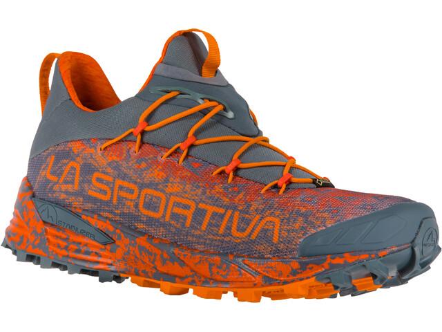 the best attitude a85a3 c7112 La Sportiva Tempesta GTX scarpe da corsa Uomo grigio arancione su ...